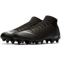 Nike Mercurial Superfly VI Academy MG Football Boots - Black, Black, Size 10, Men