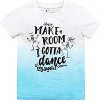 Mini V by Very Boys Skeleton Dance Tee, White, Size Age: 12-18 Months