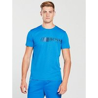 Boss Athleisure Tech T-shirt, Cobalt Blue, Size S, Men