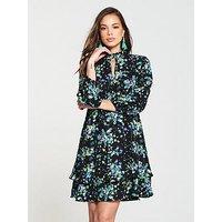 V by Very Tunic Dress - Print, Print, Size 12, Women