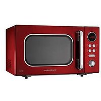 Morphy Richards Accents 23-Litre, 800-Watt Microwave - Red
