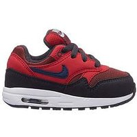 Nike Infant Air Max 1 - Black/Red , Red/Navy, Size 9