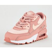 Nike Nike Air Max 90 Mesh Se Childrens Trainer, Pink, Size 10
