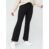 V by Very The Bootcut Trouser - Black, Black, Size 18, Women