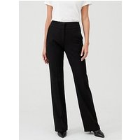 V by Very Petite The Bootcut Trouser - Black, Black, Size 10, Inside Leg Short, Women