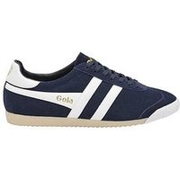 Gola Classics Harrier 50 Suede, Navy/White, Size 8, Men