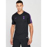 Nike Tottenham Squad Training Tee, Black, Size S, Men