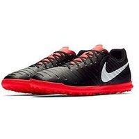 Nike Nike Junior Tiempox Legend Club Astro Turf Football Boot, Black/Pure Platinum, Size 1