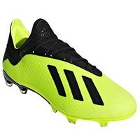 adidas  X 18.2 Firm Ground Football Boots, Yellow, Size 9, Men