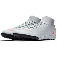 Nike Mercurial Superfly VI Academy Astro Turf Boots, Wolf Grey, Size 10, Men