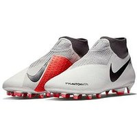 Nike Phantom Vision Pro Dynamic Fit Firm Ground Football Boots, Black/Grey, Size 6, Men