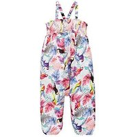 Mini V by Very Girls Jumpsuit - Tropical Print, Multi, Size 4-5 Years, Women