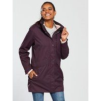 Craghoppers Aird 3 In 1 Jacket - Burgundy , Thistle, Size 12, Women