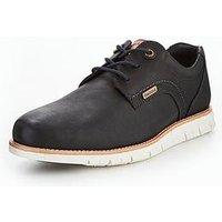 Barbour Rae Lace Up Shoe, Navy, Size 8, Men