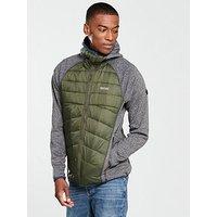 Regatta Andreson II Hybrid Jacket, Khaki, Size S, Men