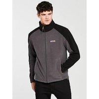 Regatta Hedman II Fleece, Grey/Black, Size Xl, Men