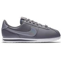 Nike Cortez Basic Sl Junior Trainer, Grey/White, Size 5