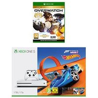 Xbox One S 1Tb Xbox One S 1Tb Console And Forza Horizon 3 Hot Wheels Plus Overwatch And Wireless Controller