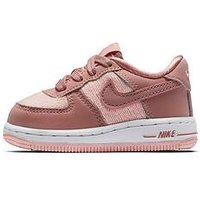 Nike Force 1 Lv8 Infant Trainer, Pink, Size 6