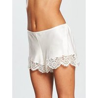 B By Ted Baker Tie The Knot Short, Ivory, Size 18, Women
