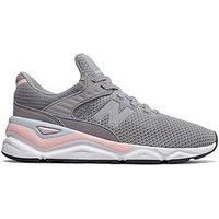 New Balance X90 - Grey/Pink , Grey/Pink, Size 3, Women