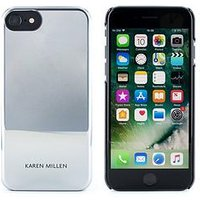 Karen Millen Iphone 6/6S/7/8 - Silver Metallic Hard Shell