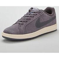 Nike Court Royale Suede - Charcoal , Charcoal, Size 3, Women