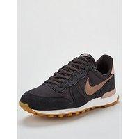 Nike Internationalist - Black/Grey, Black/Grey, Size 8, Women
