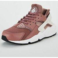 Nike Air Huarache Run - Mauve , Mauve, Size 3, Women