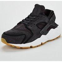 Nike Air Huarache Run Premium - Grey , Grey, Size 7, Women