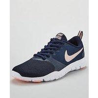 Nike Flex Essential TR - Navy/Pink , Navy/Pink, Size 8, Women