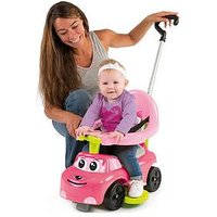 Smoby Smoby 4-In-1 Auto Bascule Ride On Car - Pink