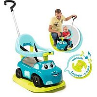 Smoby Smoby 4-In-1 Auto Bascule Ride On Car - Blue