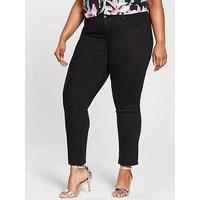 Levi's Plus 311 Shaping Skinny Jean - Soft Black, Soft Black, Size 18, Inside Leg S, Women