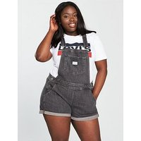 Levi's Plus Dungaree - Faded Wash, Stoop Kid, Size 18, Women