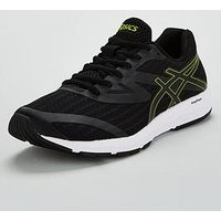 Asics Amplica - Black, Black/Yellow, Size 10, Men