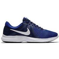 Nike Revolution 4, Navy/White, Size 10, Men