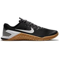 Nike Metcon 4, Black/White, Size 6, Men