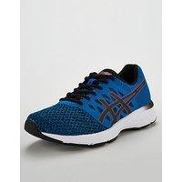 Asics Gel-Exalt 4 - Blue/Black , Blue/Black, Size 8, Men