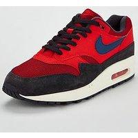 Nike Air Max 1, Red/Navy, Size 9, Men