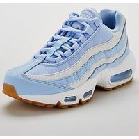 Nike Air Max 95 - Pale Blue/White , Pale Blue/White, Size 7, Women