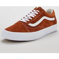 Vans Old Skool Suede, Tan/White, Size 11, Men