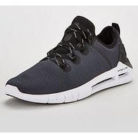 UNDER ARMOUR Hovr Slk, Black, Size 7, Men