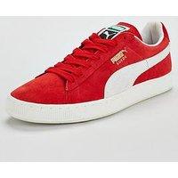 Puma Suede Classic +, Red/White, Size 11, Men