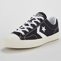 Converse Star Player Ox, Black/White, Size 9, Men