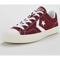 Converse Star Player Ox, Burgundy/White, Size 12, Men