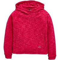 Trespass Girls Moonflow Hooded Fleece, Pink, Size 3-4 Years, Women
