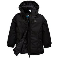 Trespass Girls Primula Jacket, Black, Size 3-4 Years, Women