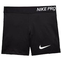 Nike OLDER GIRLS SHORT, Black, Size Xl=13-15 Years, Women
