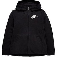 Boys, Nike OLDER GIRLS NSW HOODIE, Black, Size Xs=6-8 Years